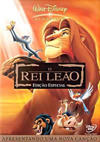 O Rei Leão, de Rob Minkoff e Roger Allers (1994, The Lion King)