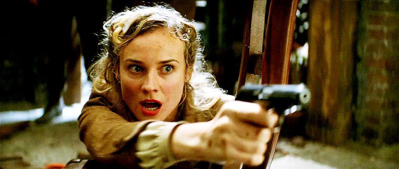 Diane Kruger, Bastardos Inglórios - Inglourious Basterds