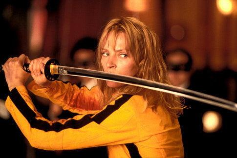 """Uma Thurman, em """"Kill Bill Vol. I"""""""