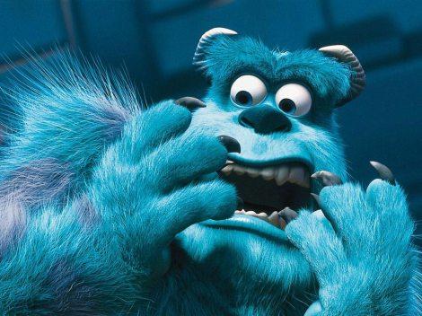 12. Monstros S.A., de Pete Docter (2001, Monsters, Inc.)